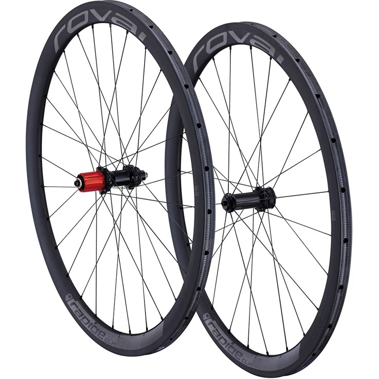 Specialized Rapide CLX 40 Disc Scs 700C Wheelset Tubular Black