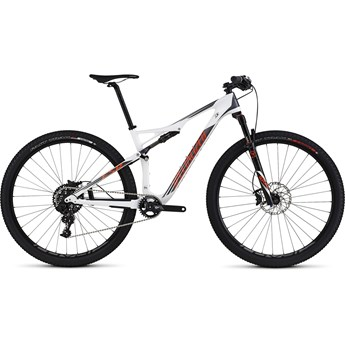 Specialized Epic FSR Elite Carbon World Cup 29 Gloss White/Charcoal/Moto Orange