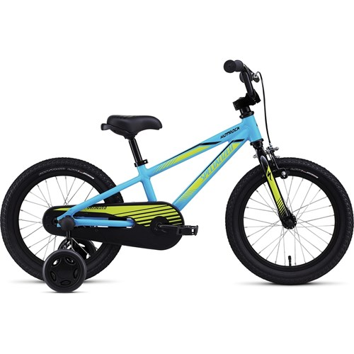 Specialized Hotrock 16 Coaster Boys Cyan/Hyper Green/Black 2016
