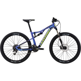 Cannondale Habit Womens 3 Purple Haze with Jet Black and Volt, Gloss