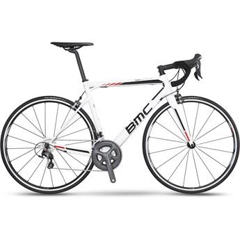 BMC Teammachine SLR02 Ultegra 52x36 Vit, Svart och Röd 2016