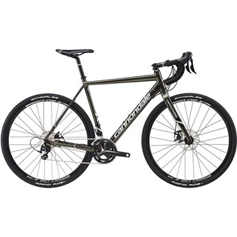 Cannondale CAADX 105 Anthracite with Fine Silver and Jet Black, Matte