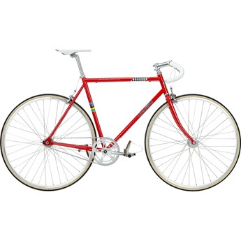 Crescent Retro Röd