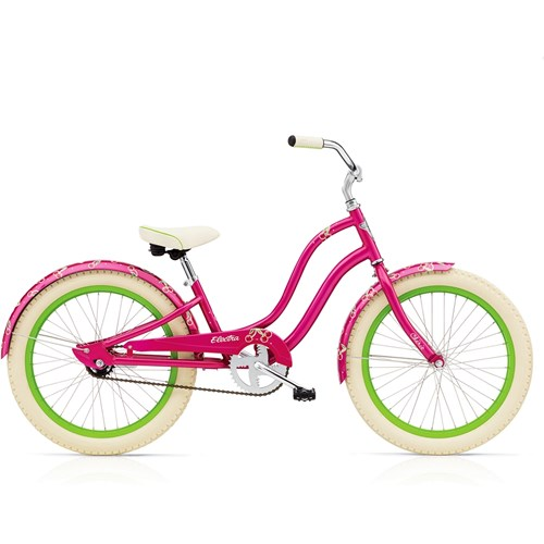 Electra Cherie 3i 20'' Girl's Hot Pink