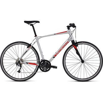 Specialized Sirrus Elite Brushed/Rocket Red/Black
