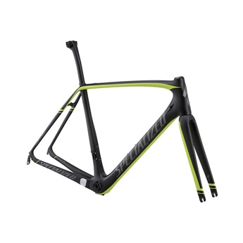 Specialized Tarmac Pro Frameset (Rampaket) Carbon/Hyper Green/Charcoal
