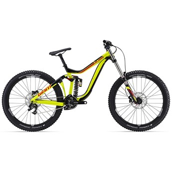 Giant Glory 27.5 2 Black/Yellow 2016