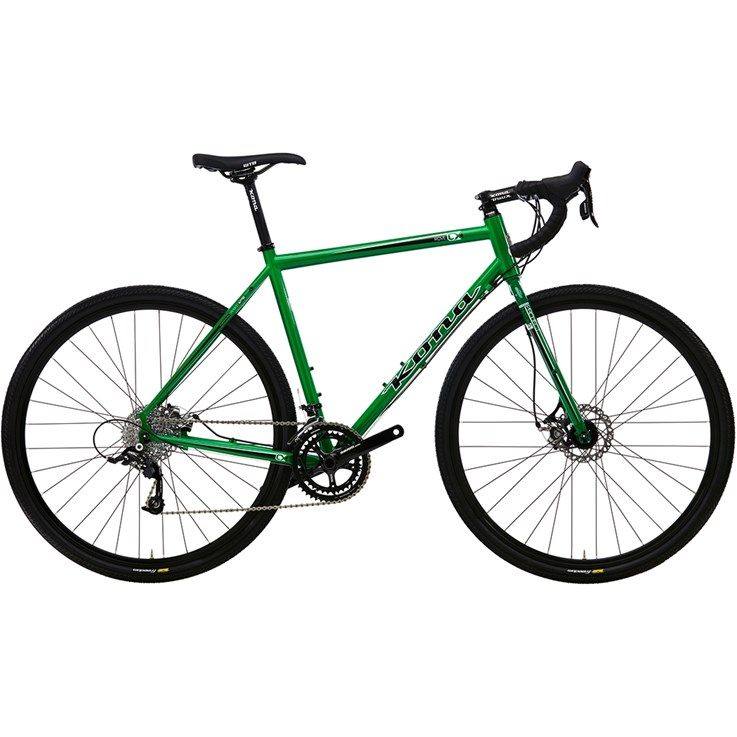 Kona Rove Metallic Green with Black and White