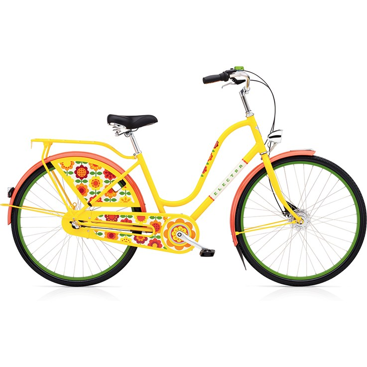 Electra Amsterdam Forget Me Not 3i Step-Thru Yellow 2020