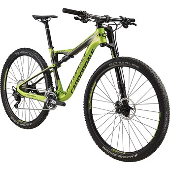 Cannondale Scalpel-Si Carbon 4 Acid Green with Anthracite and Jet Black, Gloss