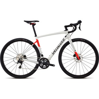 Specialized Diverge Men Comp Gloss Dirty White/Rocket Red/Tarmac Black 2018