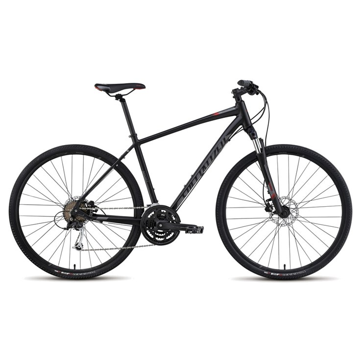 Specialized Crosstrail Sport Disc Satin Black/Charcoal/Red