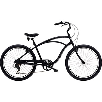 Electra Cruiser Lux 7D Step-Over Matte Black 2020