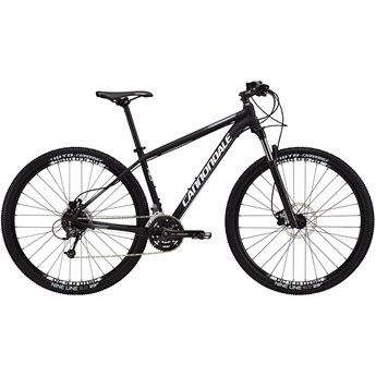 Cannondale Trail 4 Jet Black with White and Charcoal Gray, Matte