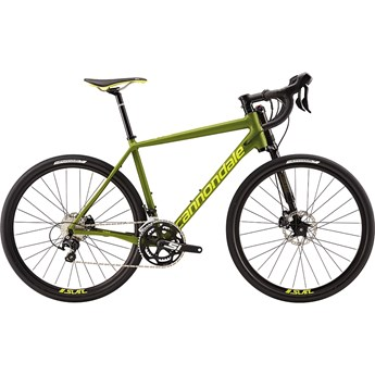 Cannondale Slate 105 Army Green with Neon Spring, Matte