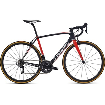 Specialized S-Works Tarmac Dura-Ace Satin Carbon/Rocket Red/Metallic White