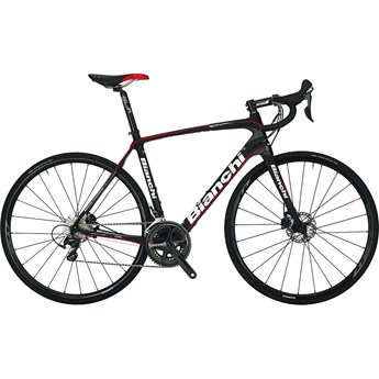 Bianchi Infinito CV Disc Ultegra Black/Graphite/Red