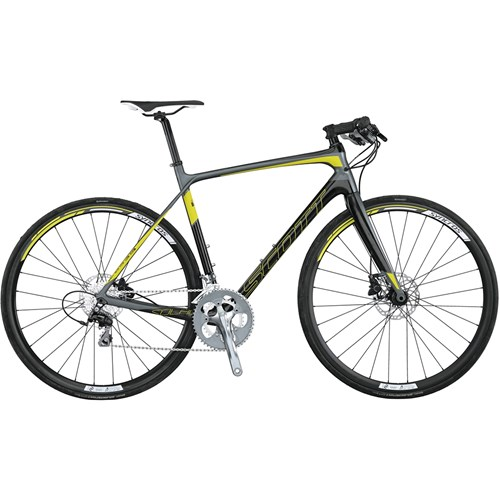Scott Solace 40 Flat Bar Disc CD20 (Compact Double 20 Växlar) 2015
