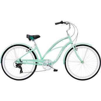 Electra Cruiser Lux 7D Step-Thru Sea Green Metallic 2020