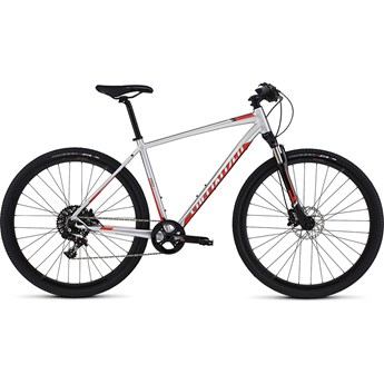 Specialized Crosstrail Pro Disc Brushed/Rocket Red/Black