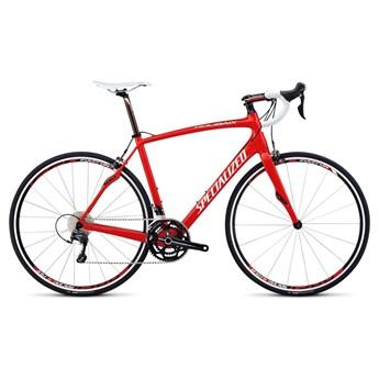 Specialized Roubaix SL4 Comp Ultegra C2 EURO Röd/Svart/Vit