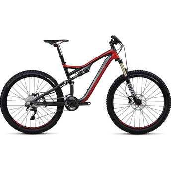 Specialized Stumpjumper FSR Elite Röd/Grå/Svart