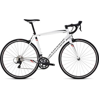Specialized Allez Sport Gloss Metallic White/Tarmac Black/Rocket Red/White
