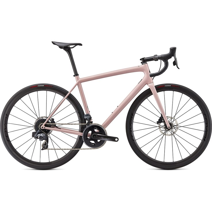Specialized Aethos Pro SRAM Force eTAP AXS Gloss Blush/Satin Tarmac Black 2021
