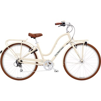 Electra Townie Commute 8D EQ Ladies Cream