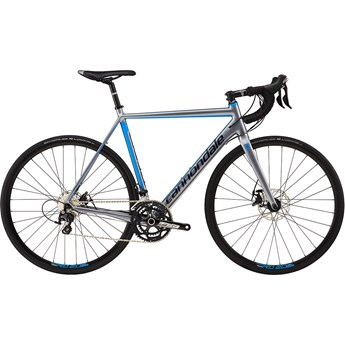 Cannondale CAAD Optimo Disc 105 Cloudburst Gray with Niagra Blue and Midnight Blue, Gloss