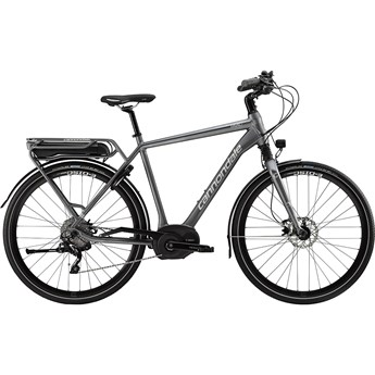 Cannondale Mavaro Performance 1 Charcoal Gray with Blue Collar and Fine Silver, Gloss