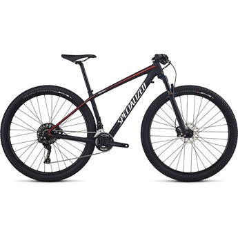 Specialized Epic Hardtail Women's Comp Carbon 29 Tarmac Black/Nordic Red/White Metallic Silver