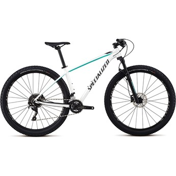 Specialized Rockhopper Womens Pro 29 Gloss Satin Metalic White Silver/Acid Mint/Black