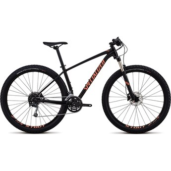 Specialized Rockhopper Womens Expert 29 Gloss Satin Tarmac Black/Acid Lava/Black