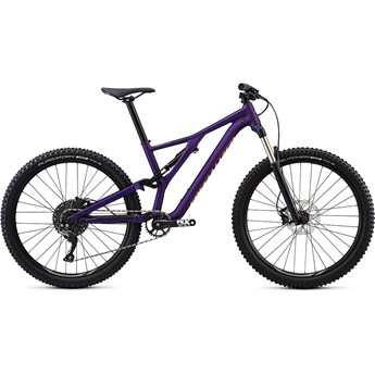 Specialized Stumpjumper FSR ST Womens 27.5 Satin Gloss /Plum Purple/Acid Lava