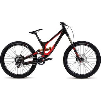 Specialized Demo 8 FSR II 650B Gloss Warm Charcoal/Rocket Red/Black