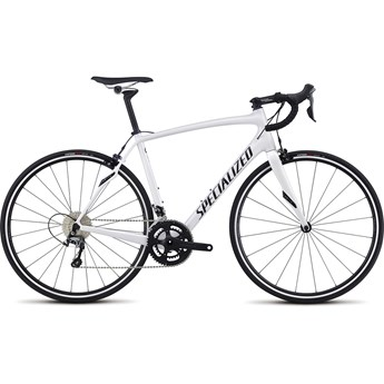 Specialized Roubaix SL4 Rim Gloss Metallic White Silver/Tarmac Black/Clean 2017