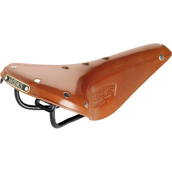 Brooks Sadel I Läder B17 Narrow Honey