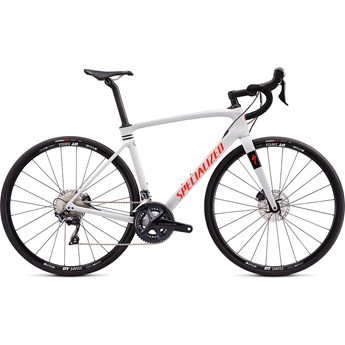 Specialized Roubaix Comp Gloss Dove Gray/Crimson/Rocket Red