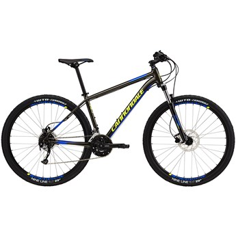 Cannondale Trail 5 Anthracite with Cerulean Blue and Volt, Gloss