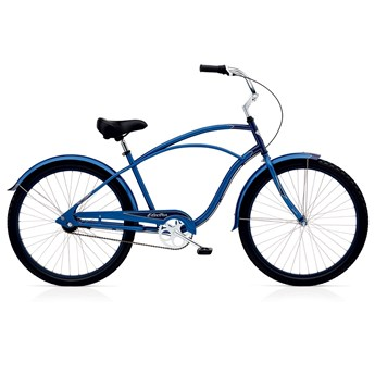Electra Cruiser Custom 3i Blue/Dark Blue Herr