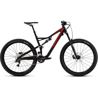 Specialized Stumpjumper FSR Comp 650B Satin Black/Rocket Red