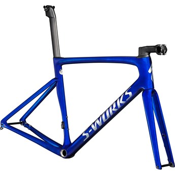 Specialized Tarmac SL7 S-Works Frameset Blue Tint Over Spectraflair/Brushed Chrome 2021