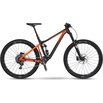 BMC Trailfox 02 X01 Materialfärg och Orange 2016