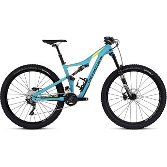 Specialized Rhyme FSR Comp Carbon 650B Satin Turquoise/Hyper Green/Black