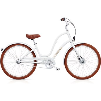 Electra Townie Balloon 3i EQ Ladies White