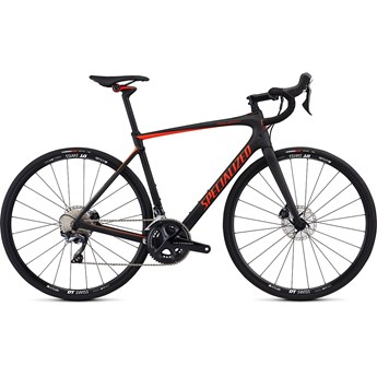 Specialized Roubaix Comp Satin Carbon /Rocket Red