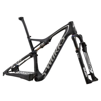 Specialized S-Works Epic FSR Carbon WC 29 Frameset (Rampaket) Carbon/White