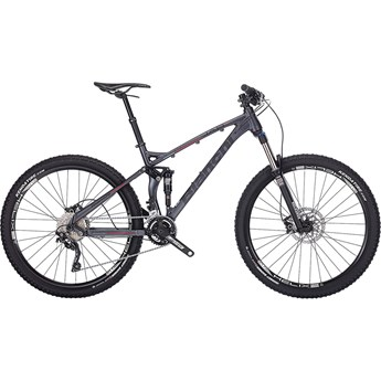 Bianchi Jab 27.2 FS Trail Antracite Matt/Black Logo/Red Line