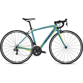Specialized Amira SL4 Comp Ultegra Di2 Satin Turquoise/Hyper Green/Black